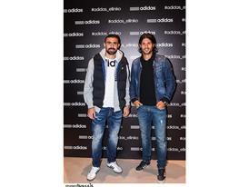Ο Γιάννης Μανιάτης με τον Alejandro Domínguez