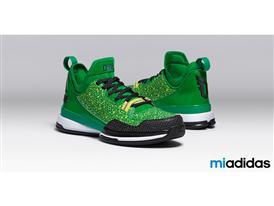 miadidas D Lillard 1 Green H 2