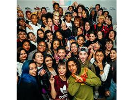 Superstar Experience: Pharrell Williams Surprises Highschool Artists 5