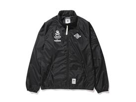 NH Wind Jkt Front Black