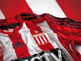 adidas presentó los nuevos diseños de las camisetas del Club Estudiantes de La Plata
