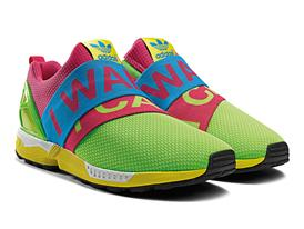 adidas Originals ZX FLUX GÇô I Want I Can Pack B34451 ZX FLUX SLIP ON 2