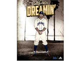 adidas UCLA Jackie Robinson Poster