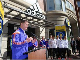adidas and B.A.A. Officially Open RunBase 37