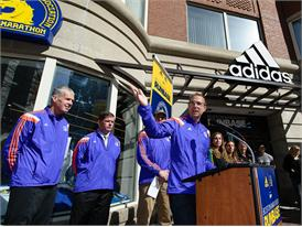 adidas and B.A.A. Officially Open RunBase 39