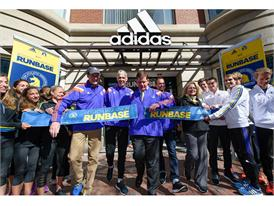adidas and B.A.A. Officially Open RunBase 42