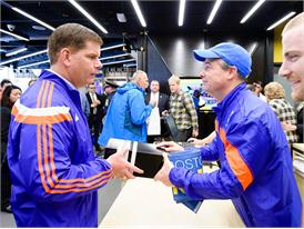 adidas and B.A.A. Officially Open RunBase 46