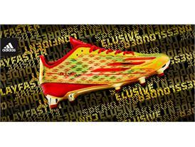 adidas adizero 5-Star Gold - Red