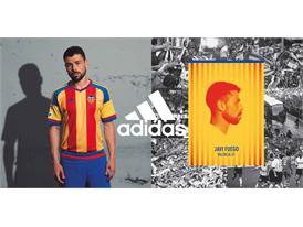 adidas y  el Valencia CF  han presentado la segunda equipación para la temporada 2015/2016 1