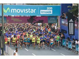 Las calles de Lima se llenaron de enería en la Lima 42K 16