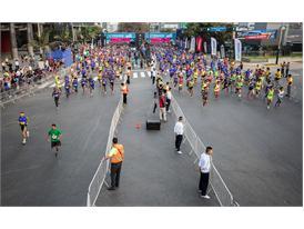 Las calles de Lima se llenaron de enería en la Lima 42K 23