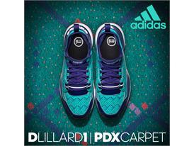 adidas D Lillard 1 PDX Carpet 8