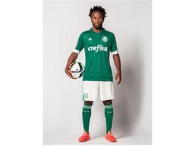 Zé Roberto apresenta a nova camisa do Palmeiras