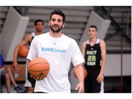 Ricky Rubio adidas eurocamp 2014