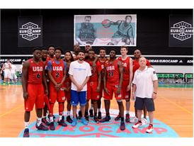 USA Team Rubio adidas Eurocamp2015 day3