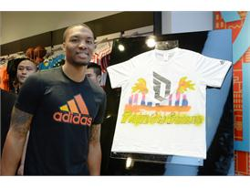 adidas Damian Lillard Take on Summer Tour in Shanghai, China 3