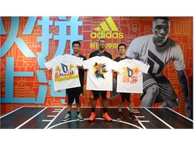 adidas Damian Lillard Take on Summer Tour in Shanghai, China 4