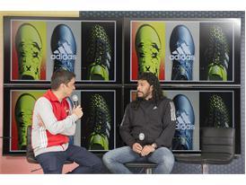 Rene Higuita y Roberto Cabañas 12