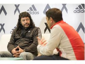 Rene Higuita y Roberto Cabañas 13