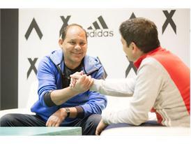 Rene Higuita y Roberto Cabañas 17