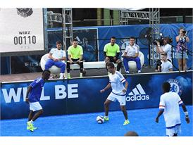 adidas Hosts Chelsea FC in NYC 9