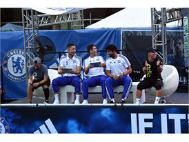 adidas Hosts Chelsea FC in NYC 13