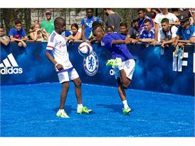 adidas Hosts Chelsea FC in NYC 19