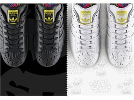 adidas Originals by Pharrell Williams - Supershell - Sculpted - Todd James 2 pack