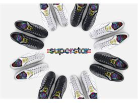 adidas Originals by Pharrell Williams - Supershell - Sculpted Collection - 2 Pack