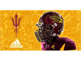 ASU adidas Football Home Helmet