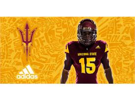 ASU adidas Football Home Chest