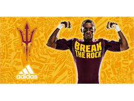 ASU adidas Football Home Baselayer