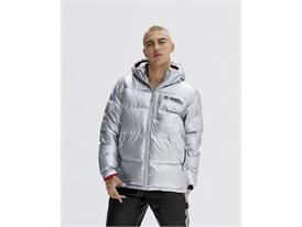 adidas Originals by Jeremy Scott FW15 Q4 MENS SILVER PUFFA IMAGE