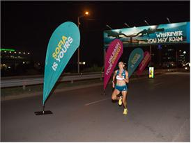 Militsa Mircheva @ night run in Sofia