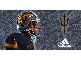ASU Hammer adidas Helmet