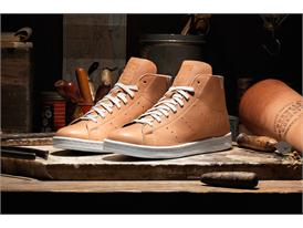 adidas Horween StanSmithMid Pair