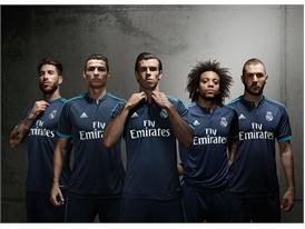 Group - Ramos, Cristiano, Bale, Marcelo, Benzema