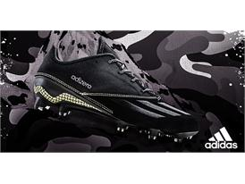 adidas Fooball DarkOps Black adizero Side