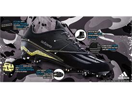 adidas Fooball DarkOps Black adizero TechSheet