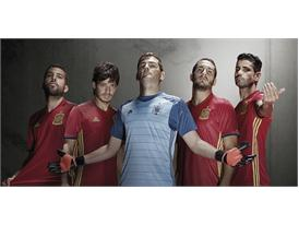 adidas and the Spanish Football Federation present the new kit for UEFA EURO 2016