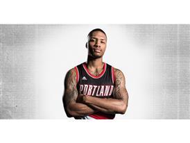 D Lillard 2 NBA Dame 1B Horizontal