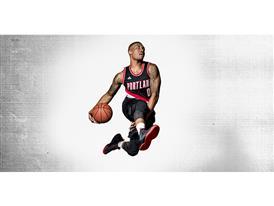 D Lillard 2 NBA Dame 4B Horizontal