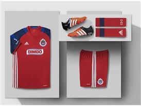 Tercer uniforme Chivas