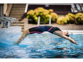 adidas swim Madison Wilson pool