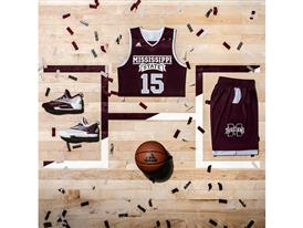 2016 Made in March Miss. State Away Square