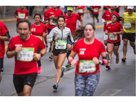 Boost Girls Maratón de Santiago Chile 14