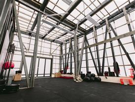adidas runbase location functional training room