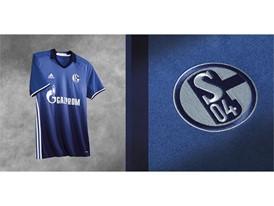 SP FA Football Clubs Schalke Home 2x1