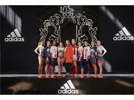 Image 6 - (L to R) Jodie Williams, Becky James, Laviai Nielsen, Jessica Ennis-Hill, Stella McCartney, Emily Scarratt, La