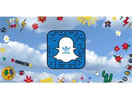 adidas Snapchat